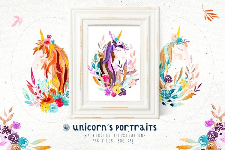Unicorns Portraits