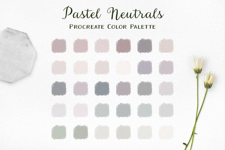 Pastel Neutrals Procreate Color Palette example image 1