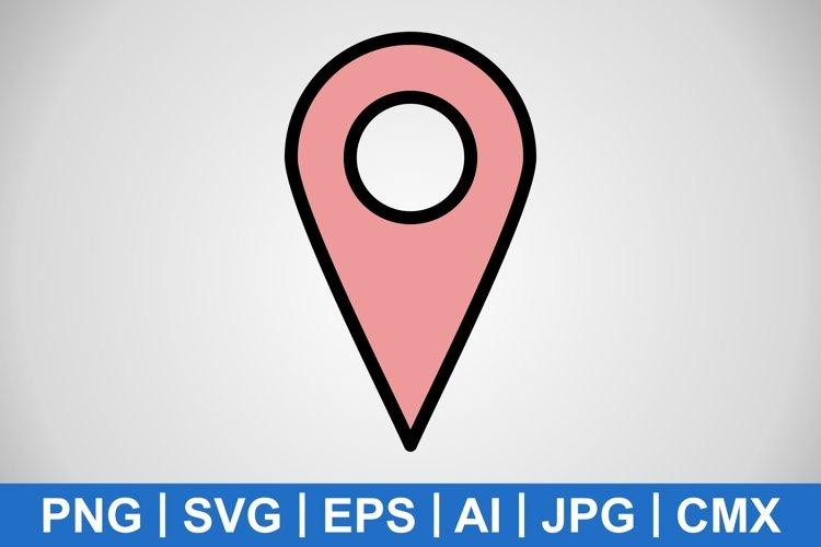 Vector Location Icon example image 1