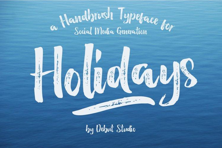 Holidays Brush example image 1