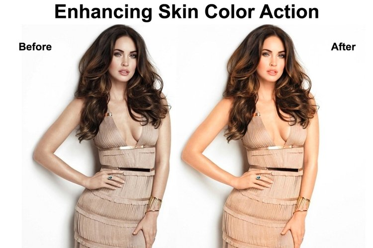 Enhancing Skin Color Action example image 1