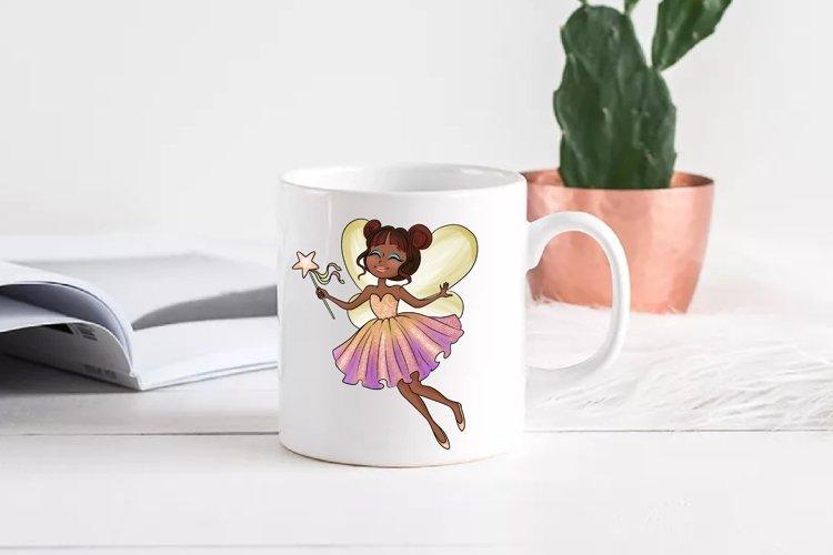 Fairy clipart, Pretty fairies clipart, Watercolor example 4