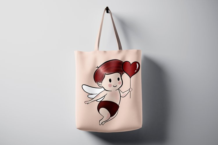 Baby Cupid Sublimation Design Love