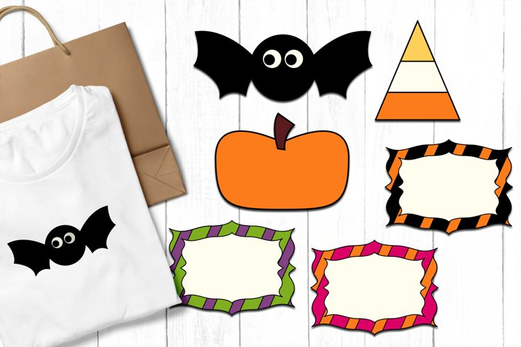 Halloween clip art graphics and illustrations