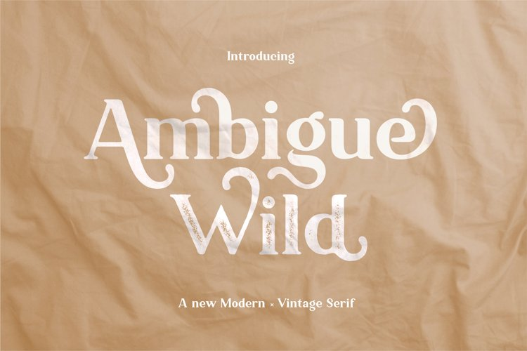 Ambigue Wild example image 1