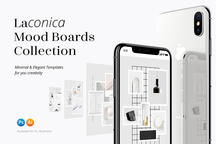 Laconica Mood Boards Collection