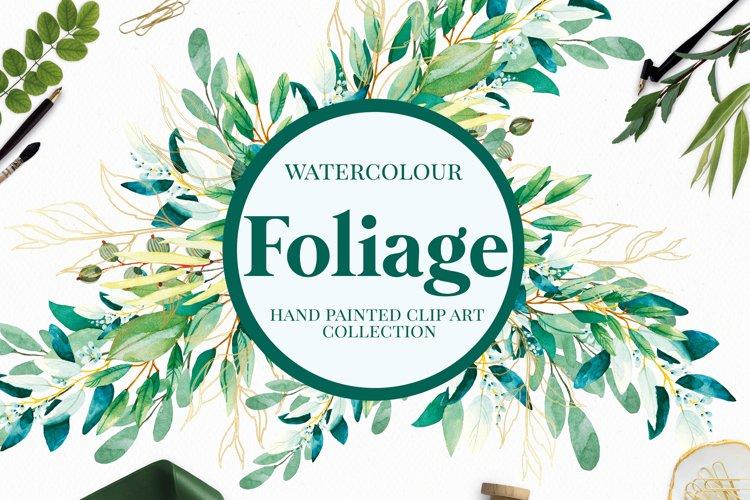 Foliage - Watercolour Leafs example image 1