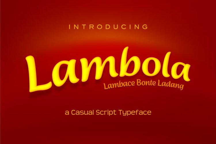Lambola example image 1