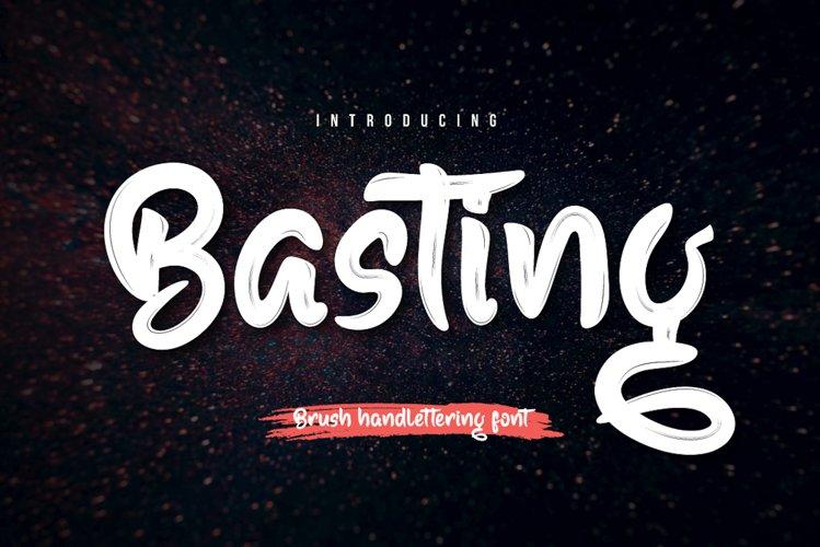 Basting example image 1