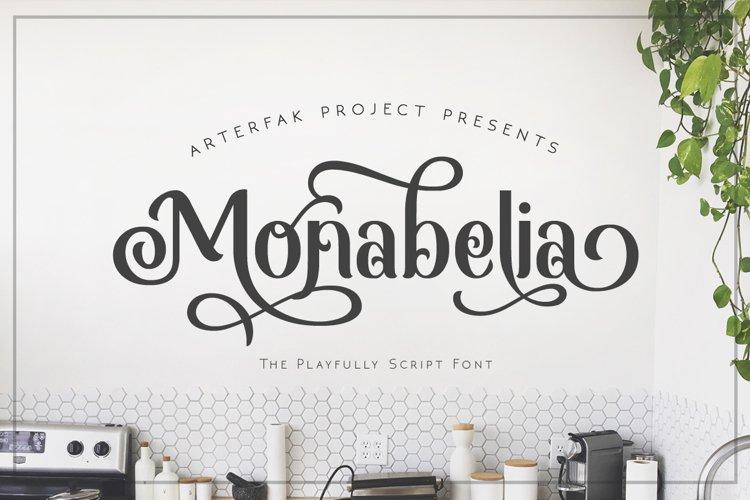 Monabelia Typeface example image 1