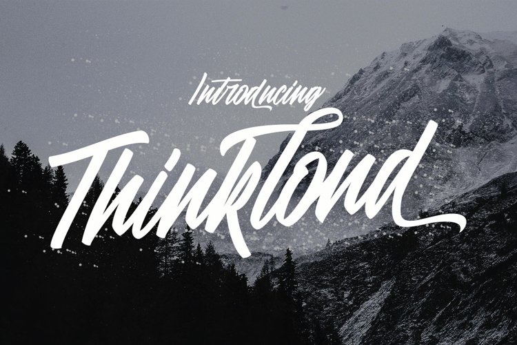 Thinkloud - with Stylistic Alt Style example image 1