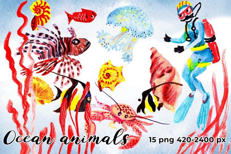 Ocean Animals example image 1
