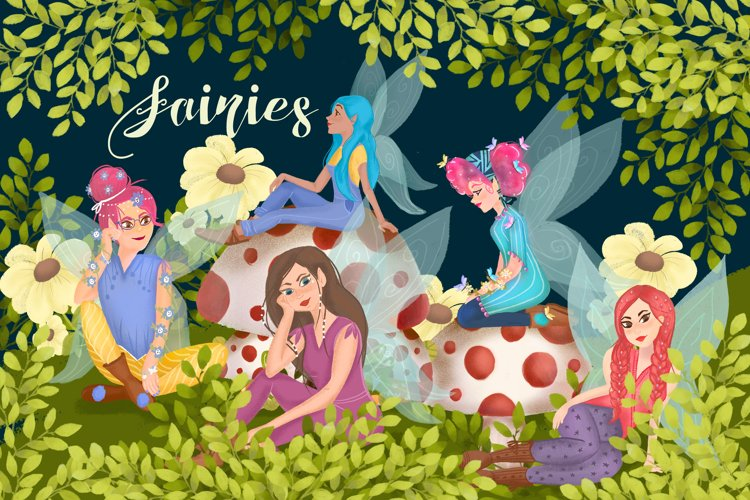 Lovely fairies