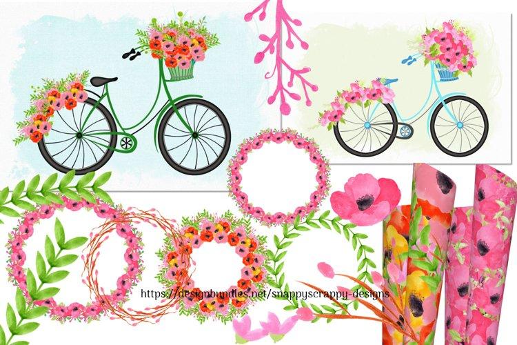 Summer Watercolours Clipart