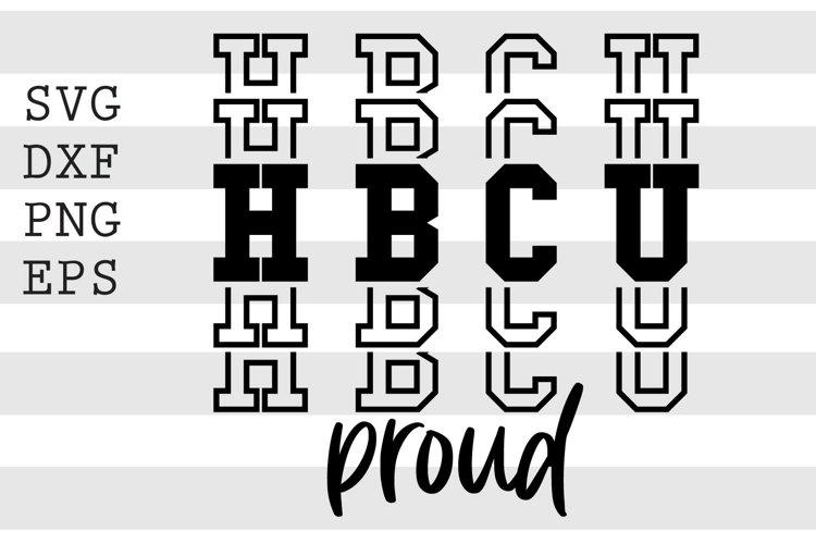 HBCU proud SVG example image 1