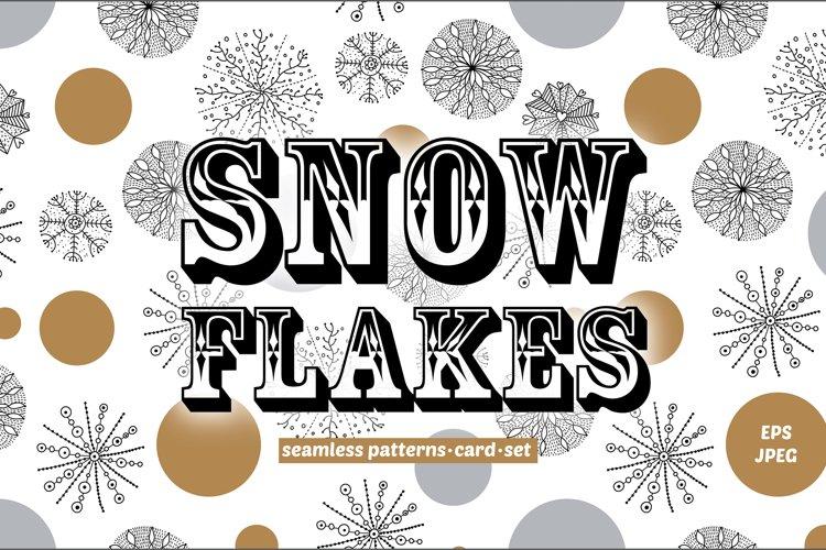 Magic snowflakes. example image 1