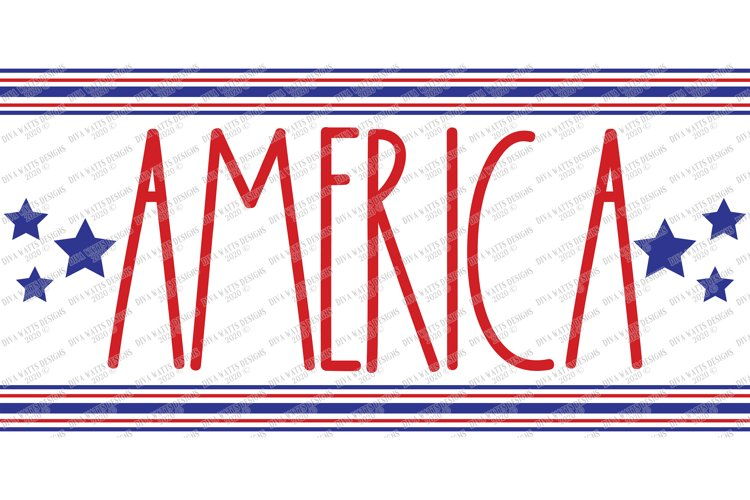 America - Patriotic - 4th of July - Independence Grain Sack example 1