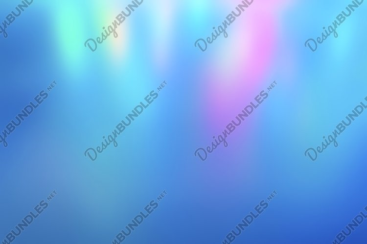 Iridescent holographic abstract neon colors background light example image 1