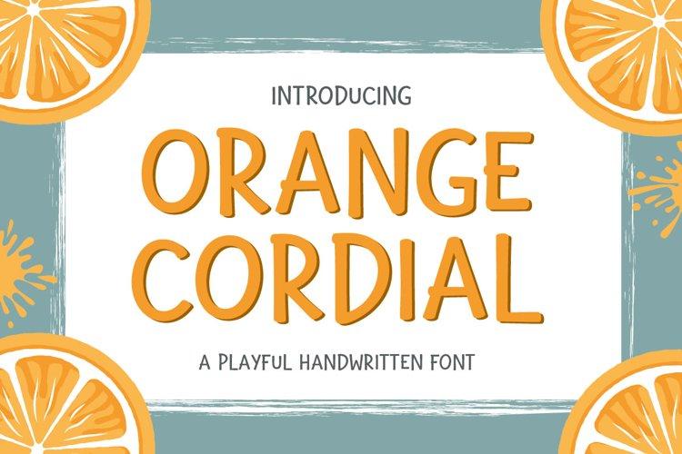 Orange Cordial example image 1