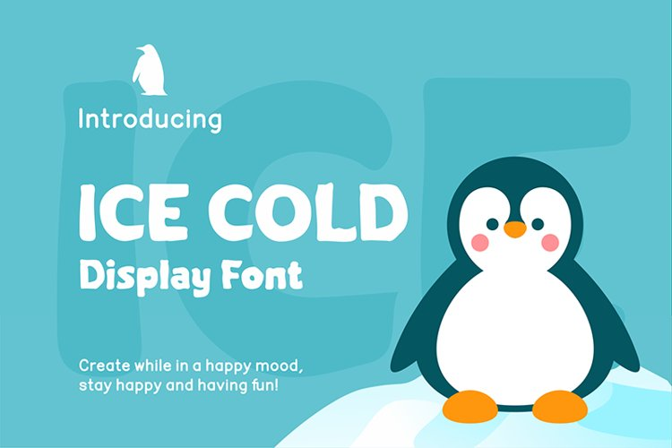 Ice Cold Font example image 1