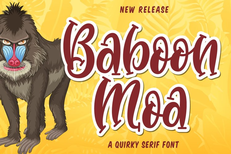 Baboon Moa example image 1