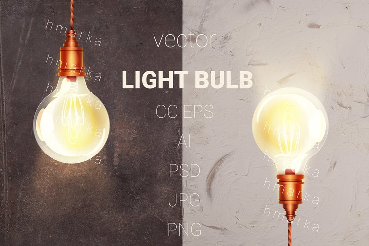 vector LIGHT BULB example image 1