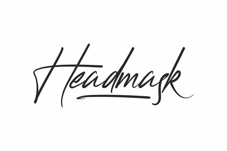 Headmask example image 1