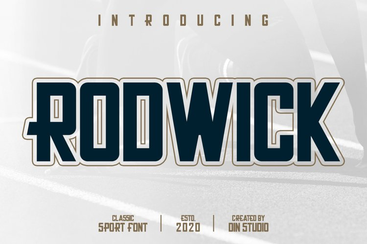 Rodwick-Classic Sport Font example image 1