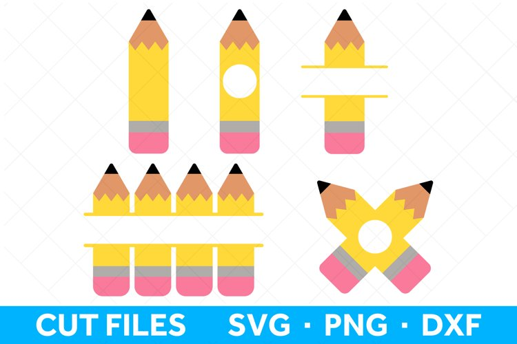 Pencil SVG Files for Cricut and Silhouette Pencil SVG Bundle