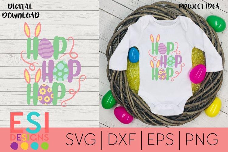 Easter SVG | Hop Hop Hop | SVG cut files