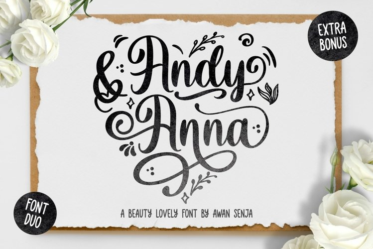Andy & Anna - Beauty Lovely Font example image 1
