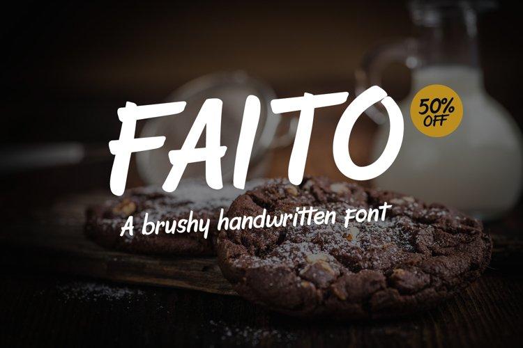 Faito Font