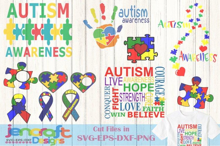 Autism Svg File Bundle Autism Awareness Cut File Clip Art 140903 Svgs Design Bundles