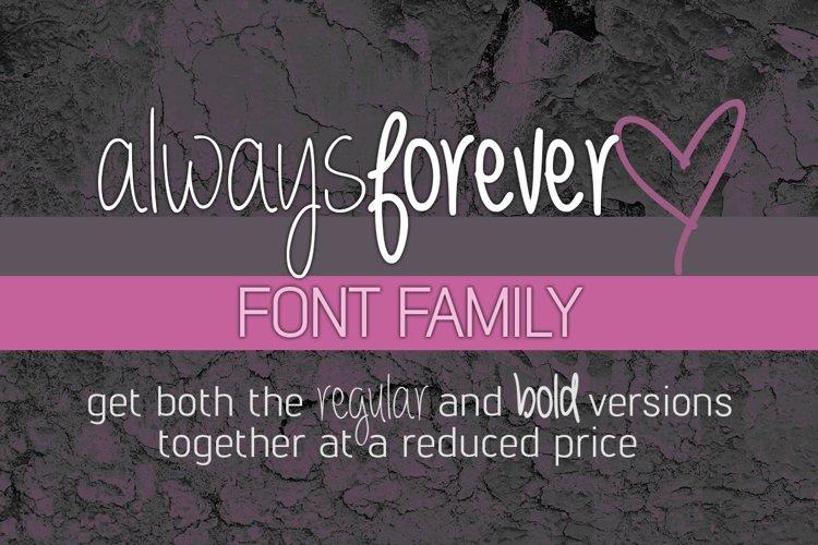 Always Forever Font Family