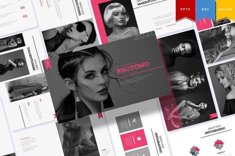 Agust Photomo | Powerpoint, Keynote, GoogleSlides Template example image 1