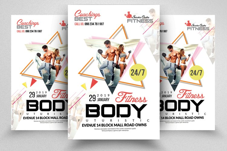 Fitness Body Flyer/Poster example image 1