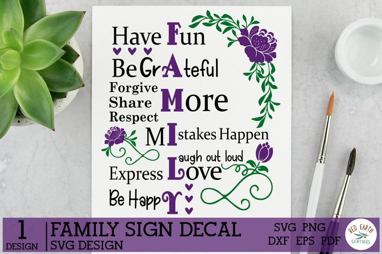 Family sign making Decal SVG,Family Rules SVG,Farmhouse SVG