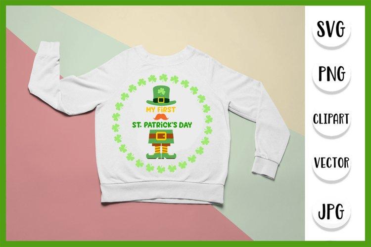 My First 1st St. Patricks Day svg