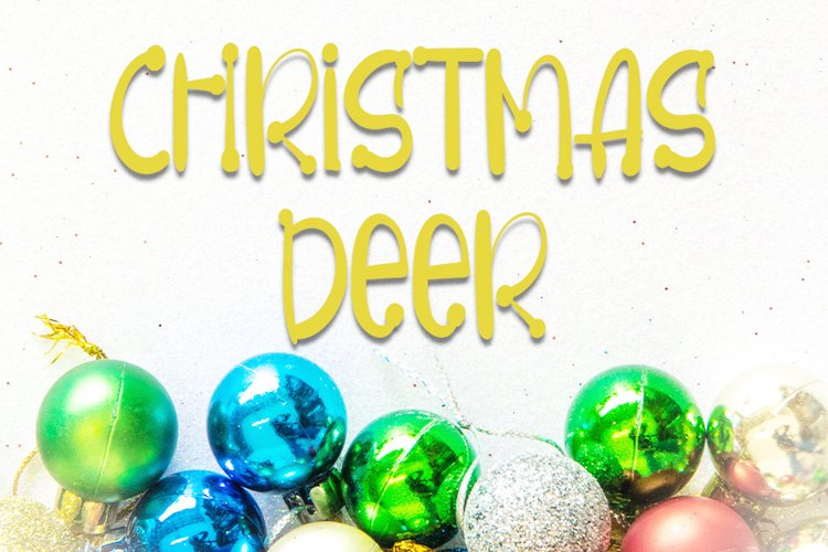 Christmas Deer example image 1