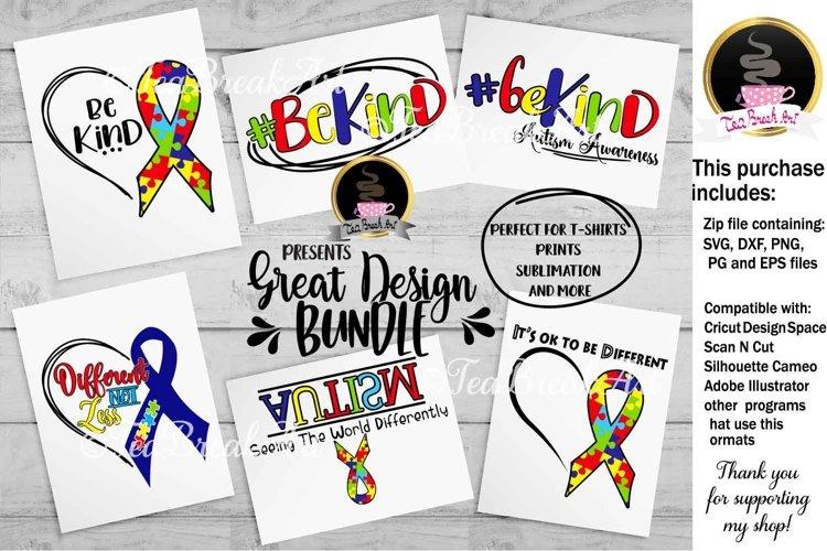 Autism Awareness Ribbon Cutting Files 1039c 254418 Svgs Design Bundles