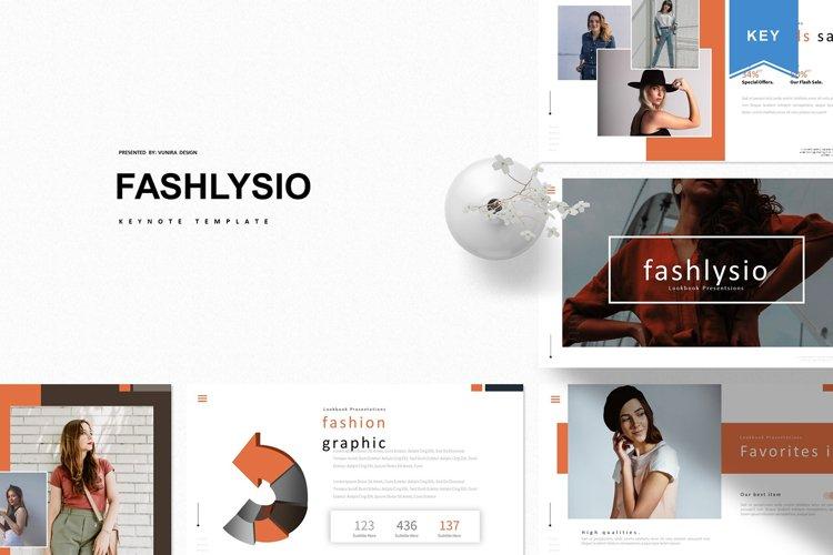 Fashlysio | Keynote Template example image 1