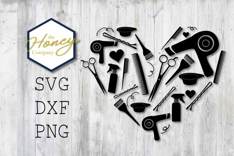 Download Hair Stylist Svg Png Dxf Shears Comb Color Heart Cut Files 98446 Cut Files Design Bundles