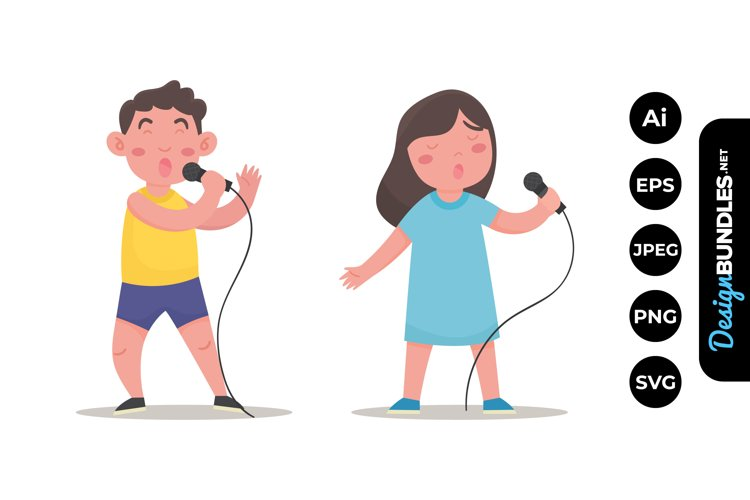 Singing Clipart example image 1
