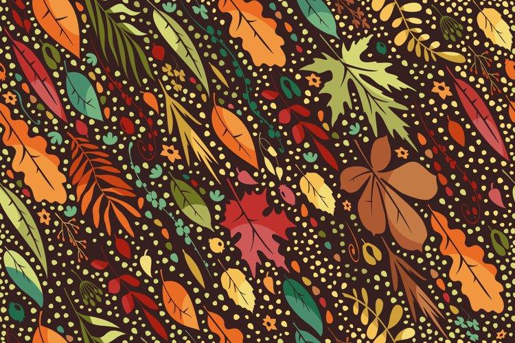 Leaf Fall Pattern