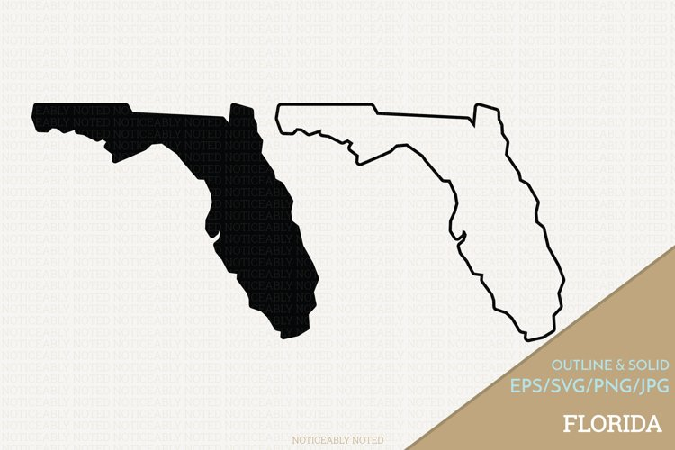 Florida Vector / Clip Art example image 1