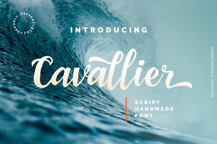 Cavallier Script