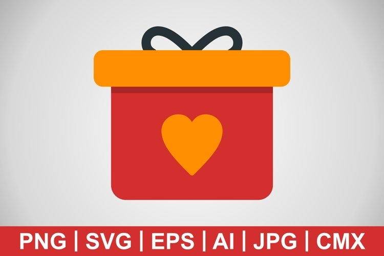 Vector Gift Icons example image 1