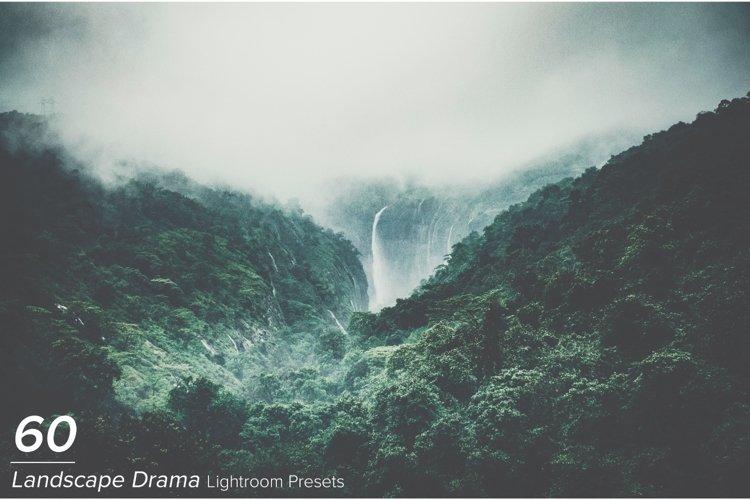 60 Landscape Drama Lightroom Presets example image 1