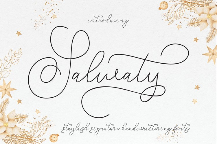 Salwaty signature example image 1