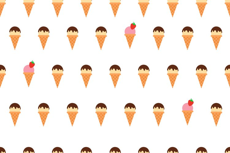 Set of Doodle Ice Creams in a Bright Cartoon Style example 4